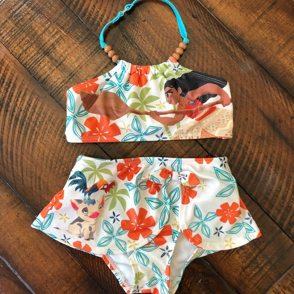 e4c80fa9a3 Disney Swim | S Moana Toddler Bathing Suit | Poshmark